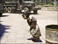 【老照片】朝鲜战争时的另一种影像. Korean War Images.