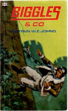 One of my favourite Biggles books when I was a child. Books For Boys, My Books, World Book Day Costumes, Book Cover Art, Space Crafts, Love Reading, Nostalgia, Air Space, Author