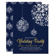 Holiday / Christmas Party Invitation Card - christmas cards merry xmas diy cyo greetings