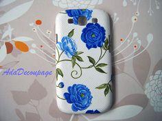 Blue Rose  Samsung Galaxy S3 i9300case  Case for by AdaFashion, $16.00