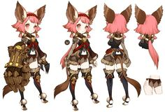 The Machina is the ninth base class to be released in Dragon Nest and the sixth female class to be introduced. First to be released in the Korean… Female Character Design, Character Design References, Character Design Inspiration, Character Concept, Character Art, Concept Art, Chibi Characters, Cute Characters, Fantasy Characters