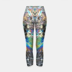 'Mystical abstractism' <> Yoga pants printed with my abstract photography are available from Live Heroes!