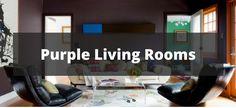 20 Purple Living Room Ideas for 2018