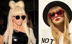 Lady Gaga, Taylor Swift si ale lor perechi de ochelari de soare...