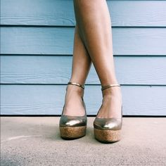 Anthropologie Pilcro&TheLetterpress Wedges✨ Absolutely gorgeous wedges by Pilcro and the Letterpress. Beautiful color, practically perfect condition, I only wish they were my size. Great for fall and the upcoming holiday season! Add a little shine to your wardrobe! Anthropologie Shoes Wedges