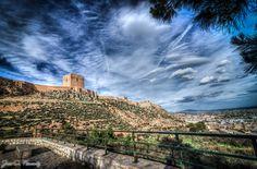 Castillo Lorca, Spain.