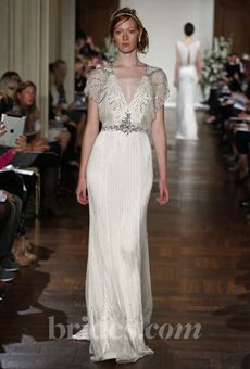 Brides: Great Gatsby-Inspired Wedding Dresses | Wedding Dresses | Brides.com