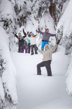 Snowshoe on Seymour! Photo Cred: Evan Beer