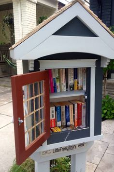Mini Library on your block?