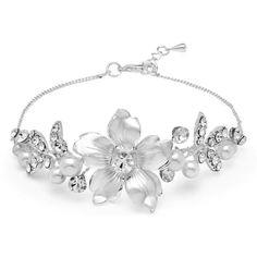 Brautschmuck Blüten Armband
