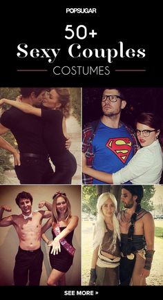 Halloween is notorious for bringing out the sexy in all of us, so why not let your significant other join in on the action? We've rounded up some of the most romantic (and maybe even a little raunchy) couples costumes out there. Get creative with your partner in crime this year, and add some sex appeal to your celebrations with these outfit ideas.