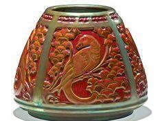 Zsolnay tapering Art Deco vase ...