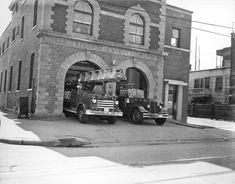 Monuments, Montreal Ville, Emergency Vehicles, Fire Engine, Fire Department, Fire Trucks, Quebec, Historical Photos, Firefighter