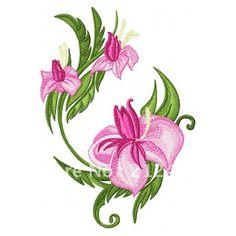 """La mode et belle fleur applique patch broderie de fer sur l'étiquette de livraison gratuite badge. 2.5"""" en dans de sur Aliexpress.com"""