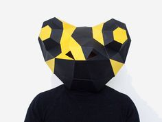 Make your own Salamander / Frog Mask Animal by AwesomePatterns