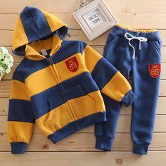 Winter Kids Sports Clothes Set