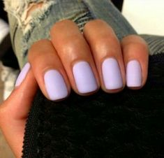 Nails design spring matte colour 33 ideas for 2019 - Nails - mild fetish - Nageldesign Cute Acrylic Nails, Matte Nails, Fun Nails, Pretty Nails, Lavender Nails, Colorful Nail, Dipped Nails, Nail Designs Spring, Nail Polish Colors