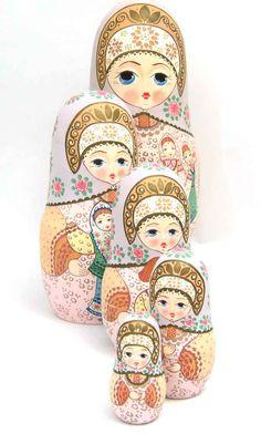"""Nesting dolls   Khorovod"""" Matryoshka Nesting Doll"""