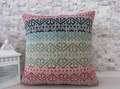16 x 16 handmade kilim pillow multi colour kilim pillow sofa pillow turkey kilim pillow bohemian pillow tribal pillow throw pillow