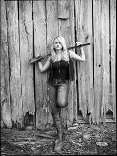 Miranda Lambert - Love her so much. Beautiful blonde country girl who knows how to use a gun!