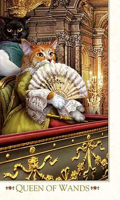 Baroque Bohemian Cats' Tarot third edition