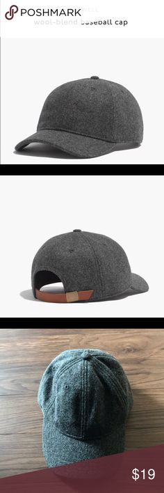Madewell wool baseball cap, NWT New with tags from my smoke free and pet free home!! Madewell Accessories Hats