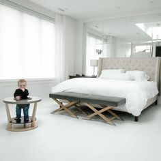 Robbie in his Bobbin!   What a beautiful space. Pears, Beautiful Space, Bed, Furniture, Design, Home Decor, Products, Decoration Home, Stream Bed
