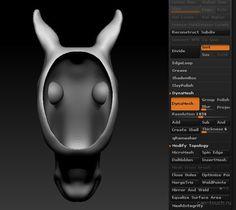 zbrush, 3D-моделирование
