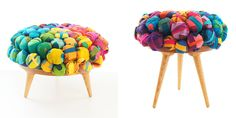 DZine Trip | Recycled silk furniture collection by Meb Rure | http://dzinetrip.com