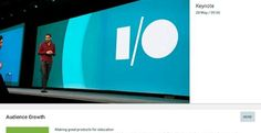 ¿Cómo seguir en directo la Google I/O 2015? Widget y app para tu smartphone #GoogleIO2015