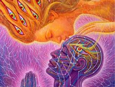 A kiss on the forehead can be incredibly powerful. It can invoke an intense response. This is because the forehead is where the third eye is located. Eye Quotes, Forehead Kisses, 3rd Eye, Karma, Chakra Meditation, Yoga For Men, What Happens When You, Pineal Gland, Alex Grey
