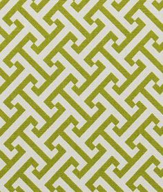 Robert Allen Split Squares Kiwi Fabric - $20.5 | onlinefabricstore.net This fabric makes beautiful modern drapes.