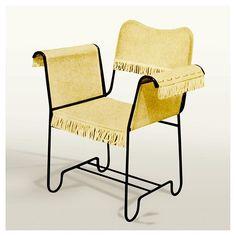 'Tropique' Chair (1952) Mathieu Matégot, manufactured by Atelier Matégot…