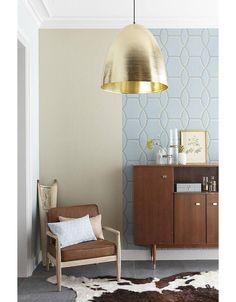 Gouden hanglamp of wit 50cm diameter