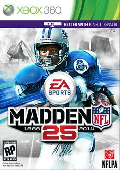 "Hall of Fame running back Barry Sanders beat out NFL MVP Adrian Peterson of the Minnesota Vikings to land the cover of ""Madden NFL 25.""    It was a case of old school beating new school with Sanders capturing 58 percent of the vote.  More than 700,000 people voted in the Sanders vs. Peterson matchup.    The 44-year-old Sanders spent his 10-year career with the Detroit Lions. He rushed for 15,269 yards and 99 touchdowns before he retired after the 1998 season."