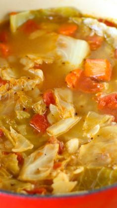 Cabbage Soup Diet for Weight Loss. Want to lose pounds in 7 days naturally without any exercise? Then the cabbage soup detox diet is for you. This 1 week diet plan is scientifically proven to re (Best Soup For Weight Loss) Detox Soup Cabbage, Cabbage Soup Recipes, Cabbage Diet, Simple Cabbage Soup, Cabbage Soup Diet Results, Potato Recipes, Clean Eating, Healthy Eating, Easy Cheese