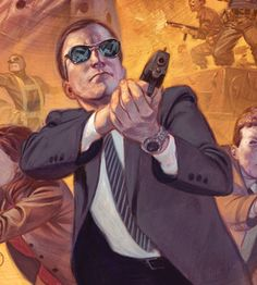"Phil Coulson first appeared in the mainstream Marvel Universe in Battle Scars #6 (April 2012), in which the character codenamed ""Cheese"" is revealed to be Coulson.[23] Coulson has gone on to appear in other comics set in the mainstream MU, including in the 2013 Secret Avengers series by Nick Spencer and Luke Ross,[24] and in Thor: God of Thunder in 2014"