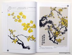 Chinese Book How to Paint Plum Blossom Painting by Xieyi Brush Ink Asian Art | eBay