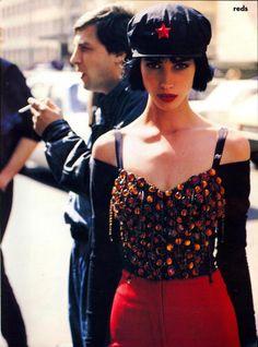 Christy Turlington | Photography by Arthur Elgort | For Vogue Magazine US | September 1990
