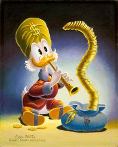 gameraboy:  The Old Money Magician by Carl Barks