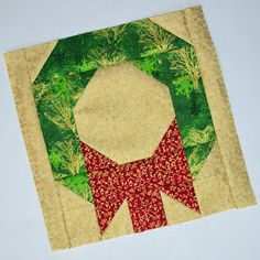 Inspired by Fabric: Silent Night Block Sampler: Day 1