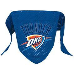 Oklahoma City Thunder NBA Licensed Dog Bandana
