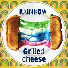 For this episode of Tune in on Tuesday, we show you how to put a cool twist on a regular boring grilled cheese! Join us for the fun! Rainbow Grilled Cheese, Tuesday, French Toast, Grilling, Join, Breakfast, Ethnic Recipes, Morning Coffee, Crickets