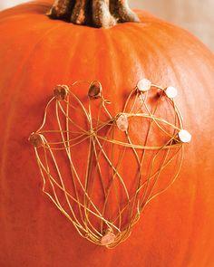 Pumpkin With A Heart - #sweetpaul