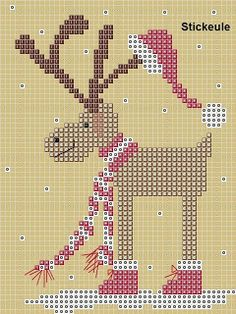 Free Christmas, and Easter, cross stitch patterns