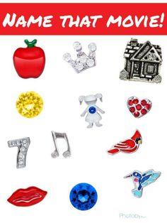 Origami Owl Name That Movie! game. Answer: Snow White  www.erikadevelasco.origamiowl.com