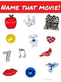 Origami Owl Name That Movie! game. Answer: Snow White. Follow CINDY CAZARES on FB! https://www.facebook.com/hellociindycharms