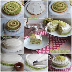 Damalı Pasta ( Ispanaklı )