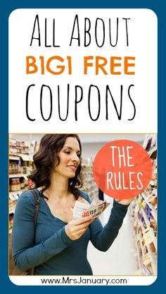 All About B1G1 Free Coupons - The Rules.  A guide to various types of coupons.  Some I never heard of.