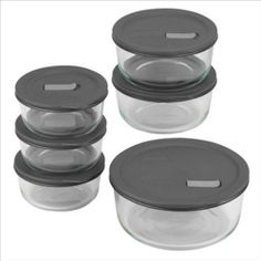 No Leak Lids 12-Pc Storage Set by Pyrex. $40.49. Leak proof and air tight seal for secure storage. Vents for microwaving. BPA-free plastic. Lid tab for easy open and close. (3) 2-C, (2) 4-C & (1) 7-Cup rounds w/ plastic lids. (3) 2-C, (2) 4-C (1) 7-Cup rounds w/ plastic lids . Leak proof and air tight seal for secure storage. Vents for microwaving . Lid tab for easy open and close . BPA-free plastic . Microwave and dishwasher safe.